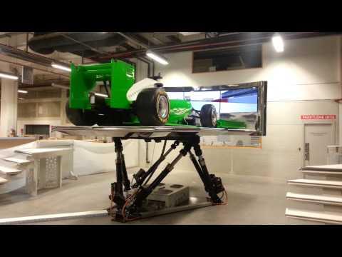 XW Racing 6 DOF Formula 1