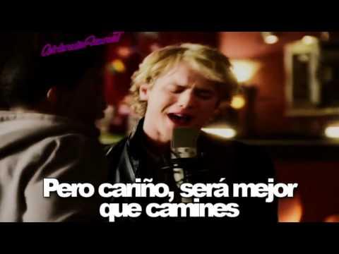 Freddie Stroma-Knockin' Traducción Español (Cinderella Story Once Upon A Song)