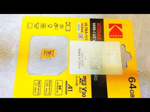Карта памяти Kodak Micro SD 64 Gb / Kodak Micro SD 64 Gb Memory Card