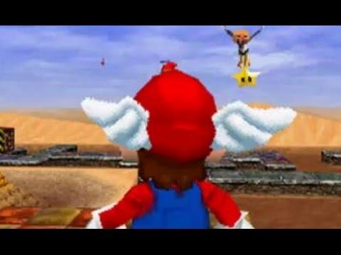Super Mario 64 DS - 100% Walkthrough Part 11 - Shifting Sand Land