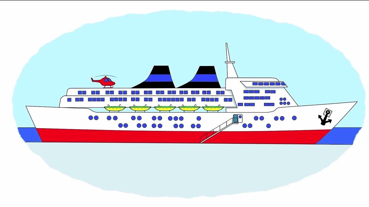 Das Zeichentrick-Malbuch. Farben lernen – Wasserfahrzeuge ...