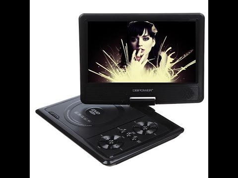 "DB Power  9.8"" portable DVD player / TV, cheap from ebay china."