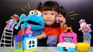 꼬마의사 맥스터핀스 레고 듀플로 디즈니 쥬니어 장난감 놀이| Disney's Maxtor Pins Lego Toy Set | LimeTube & Toy