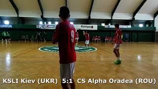 Handball. U17 boys. Sarius cup 2017. CS Alpha Oradea (ROU) - KSLI Kiev (UKR) - 4:14 (1st half)