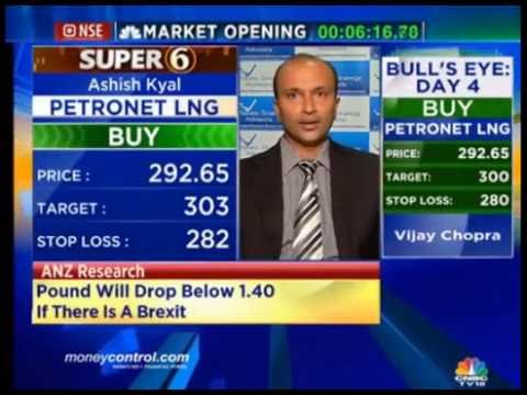 Stock Picks Bharti Infratel, Petronet LNG by Ashish Kyal on CNBC TV18 23/06/16