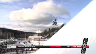 Spencer Shaw - Semi Final run at the Arctic Challenge Halfpipe 2013