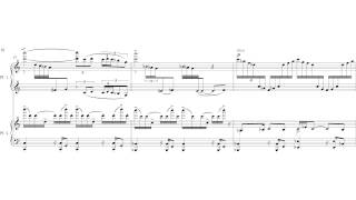 iCS - Tom Dissevelt: Orbit Aurora [Syncopation] - for 2 pianos (2012) [with score]