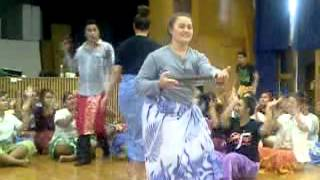 James Cook High School Samoan Group Practice 2014