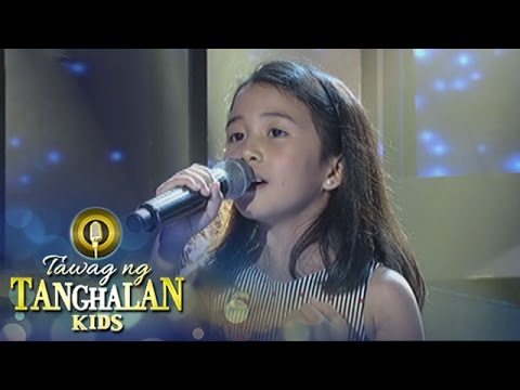 Tawag ng Tanghalan Kids: Yrah Lee Regala | I See You Lord