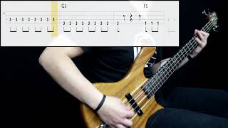 Blink-182 - All The Small Things (Bass Only) (Play Along Tabs In Video)