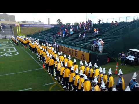 SU vs Alcorn 2014 SU marching in