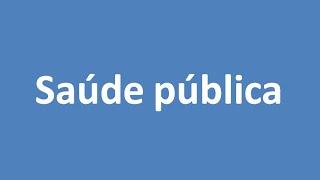Repeat youtube video Saúde pública - Possível tema da Redação do ENEM