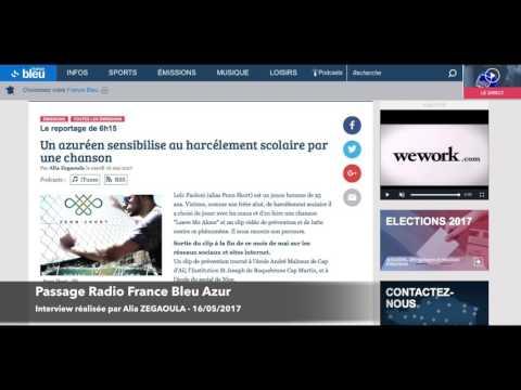 """Penn Skort - Passage Radio """"France Bleu Azur"""""""