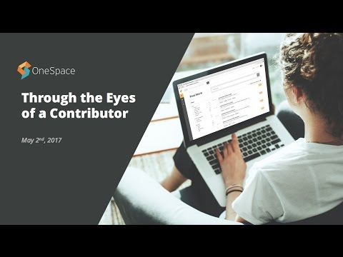 Through The Eyes Of A Contributor | Client Success 17-minute Webinar Series