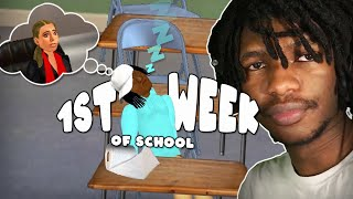 HIGH SCHOOL ISN'T AS EASY AS I THOUGHT! | School Days (School Simulator) #1