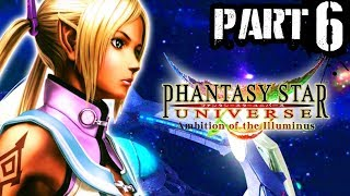 6) Phantasy Star Universe: Ambition of the Illuminus - Playthrough Gameplay