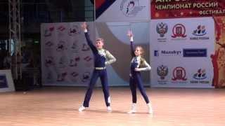 Акробатический рок-н-ролл. Чемпионат России 2013.