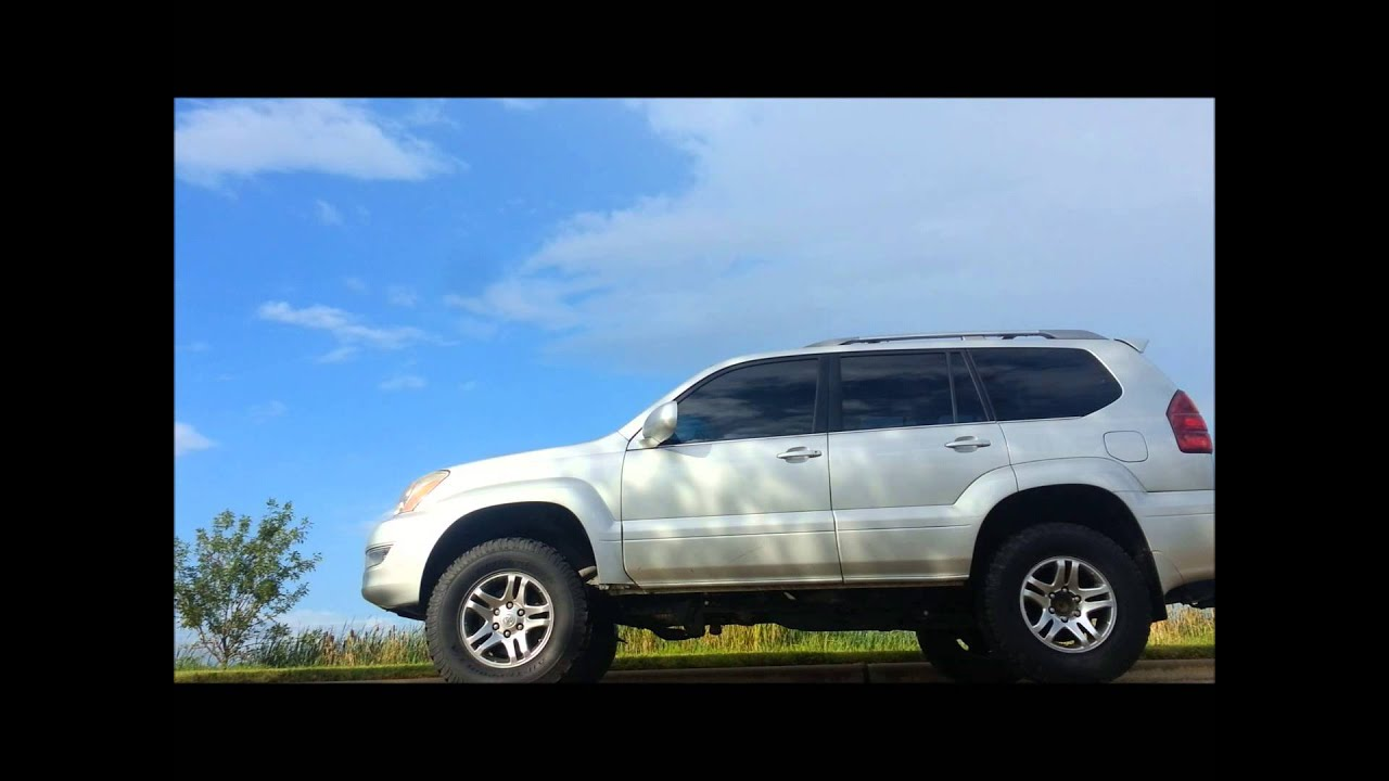 Lifted Lexus GX470 With Electric Exhaust Cutout Open
