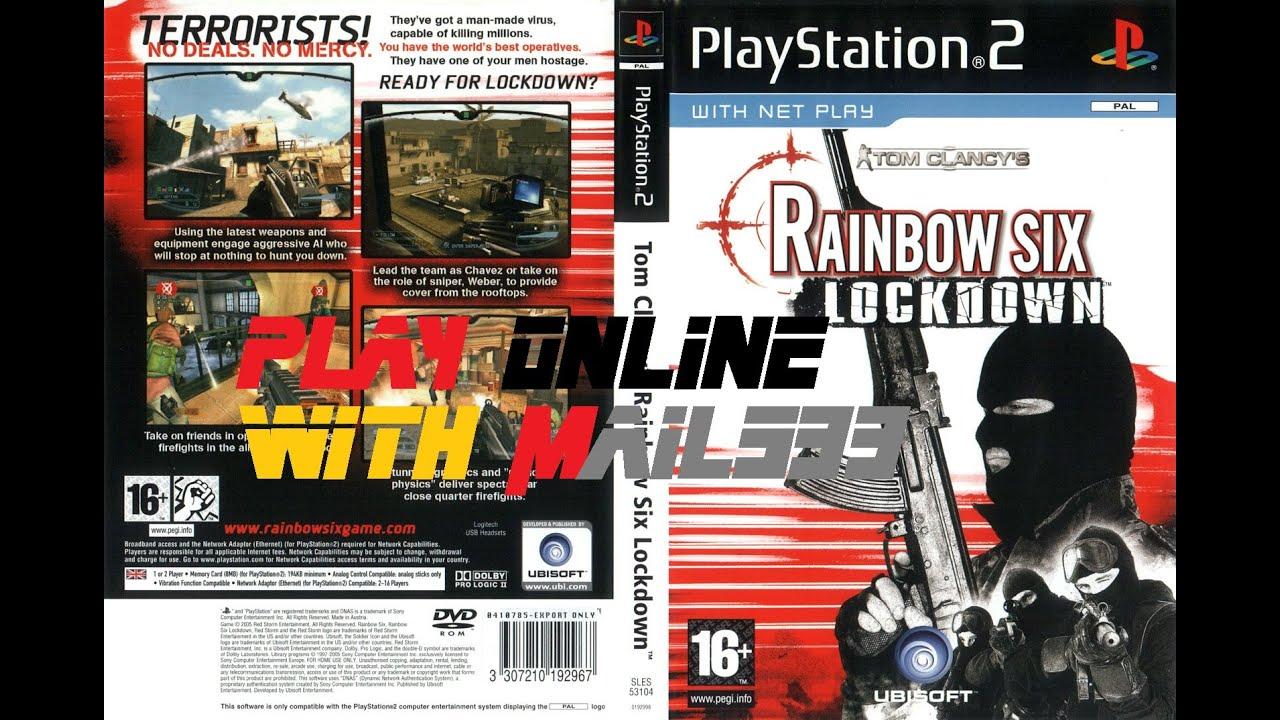 Tom Clancy's Rainbow Six: Lockdown PS2 Online X link Kai 28.09.2015 - YouTube