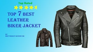 Leather motorcycle jackets for men? Top 7 best mens black leather motorcycle jacket.