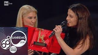 Sanremo 2019 - Il Premio alla carriera a Pino Daniele