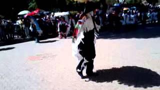 Camada municipal de Papalotla en carnaval tlaxcala