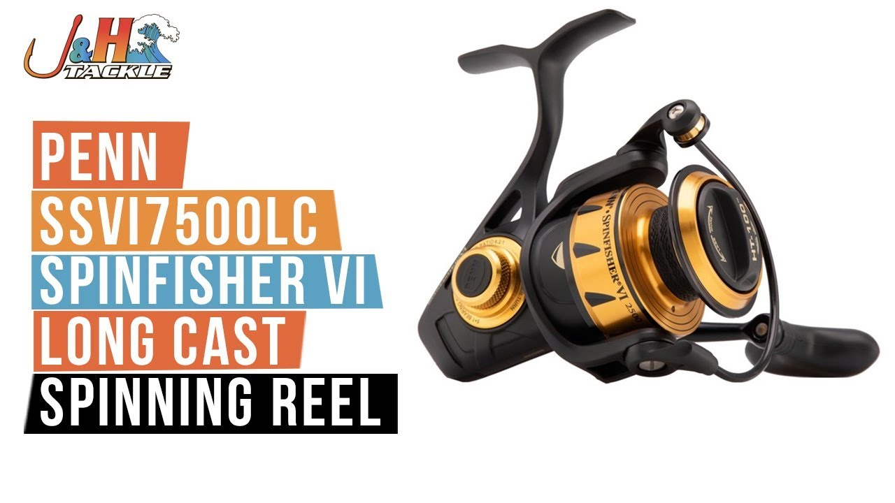Penn Spinfisher Vi 7500 Spin Fixed Spool Reel