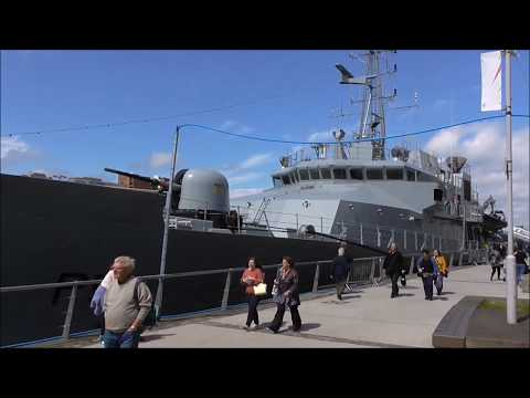 L. E. Roisin P 51 Irish Off Shore Patrol Vessel Belfast