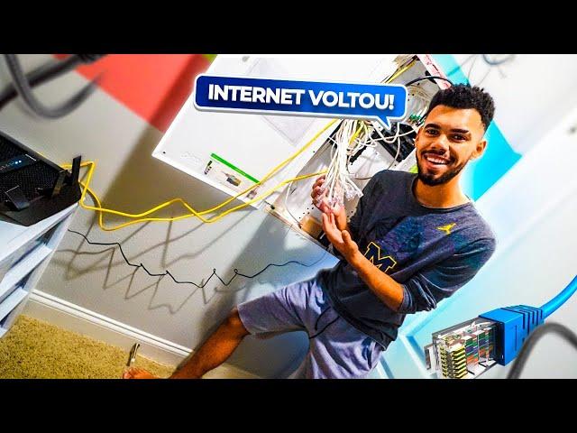 PROBLEMA DA INTERNET ACABOU ‹ EduKof ›