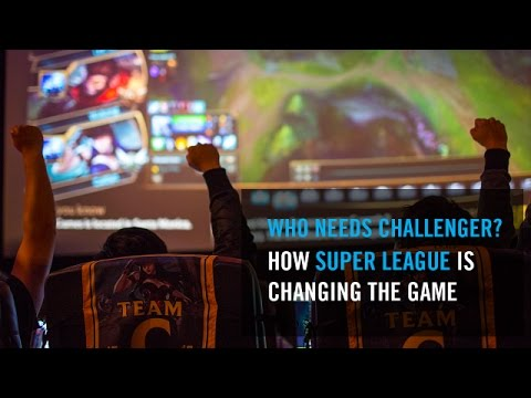 How Super League Is Taking Local League Of Legends Teams And Putting Them On Stage