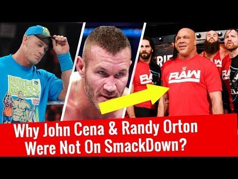 Why John Cena & Randy Orton Were Not On SmackDown Live?WWE SmackDown Live 11/14/2017 Survivor Series