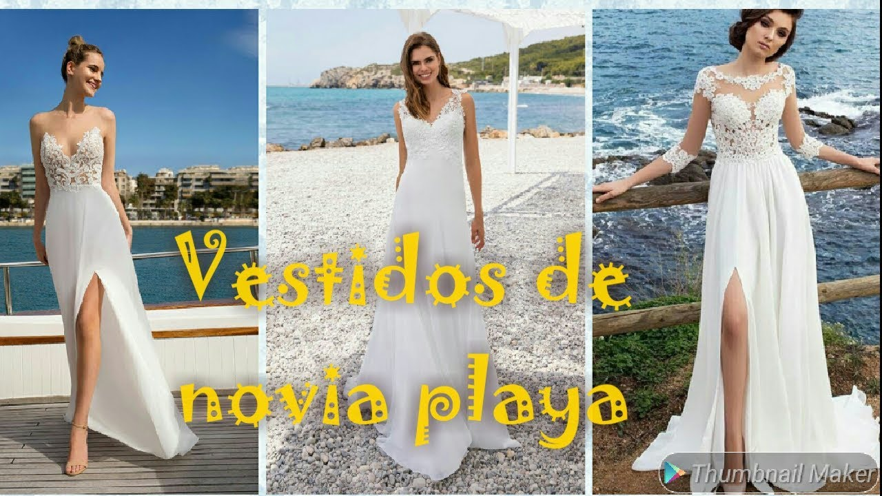 Vestidos De Novia Pará Playa 2020 Wedding Beach Dreses Plaj Gelinlik Youtube