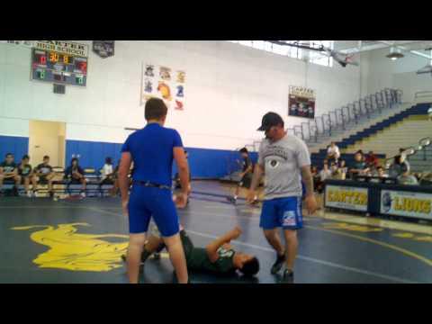 Tyler Lowell - Wrestling @ Carter High School for Frisbie Middle School