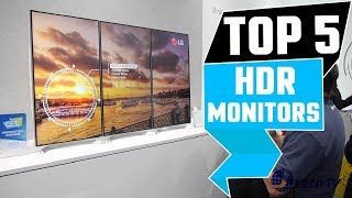 ✅ Top 5: Best Hdr Monitor Review Of 2019 | Best Budget Hdr Monitor (Buying Guide)