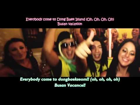 Haha and Skull - Busan Vacance MV with lyric