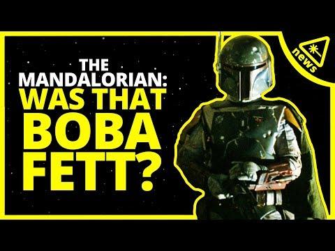 Could That Really Be Boba Fett in The Mandalorian? (Nerdist News w/ Dan Casey)