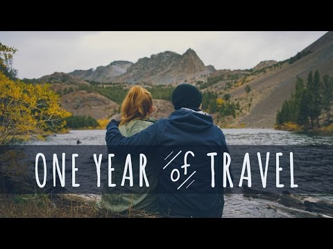 ONE EPIC YEAR OF TRAVEL MONTAGE - The Endless Adventure