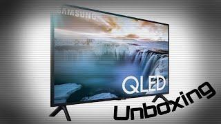 "Samsung 32"" Class Q50R QLED Smark 4K UHD TV Unboxing (QN32Q50RAFXZA)"