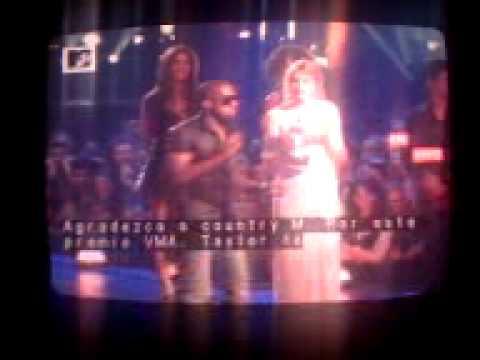 Kanye West interuption speech @ The VMAs 2009
