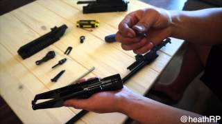 High Point 995 Disassemble and Reassemble