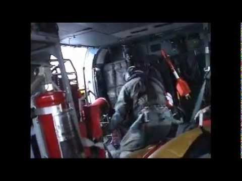 COAST GUARD RESCUE OF 3 SAILORS DURING SUB-TROPICAL STORM ANDREA, 7 MAY 2007.