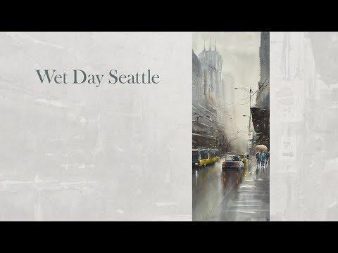 Wet day Seattle