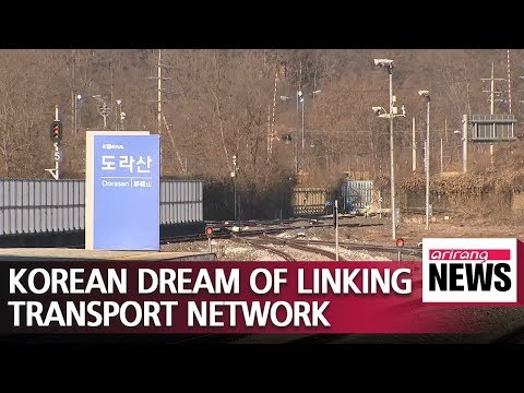 Two Koreas aim to link railways to Eurasian continent and become logistics hub