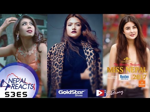 Miss Nepal React to क, ख, ग, घ ..... भन्न आउँछ? Nepal Reacts brought to you by Goldstar | NR S3E5