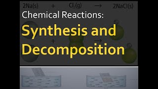 Chemistry - Synthesis and Decomposition Reactions