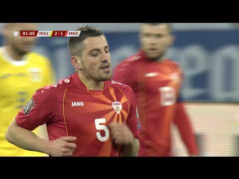 Romania FYR Macedonia Goals And Highlights