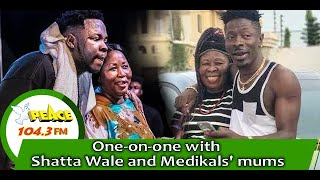 Download One-on-one with Shatta Wale and Medikal's mums on Peace FM's entertainment review with Kwesi Aboagye Mp3 and Videos