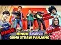 CHALLENGE MINUM TEALIVE GUNA STRAW PANJANG SAMPAI