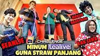 CHALLENGE MINUM TEALIVE GUNA STRAW PANJANG SAMPAI LANGIT!.(FT. SEANLJE,KAK LEHA&MAKCIK ROSMAH)