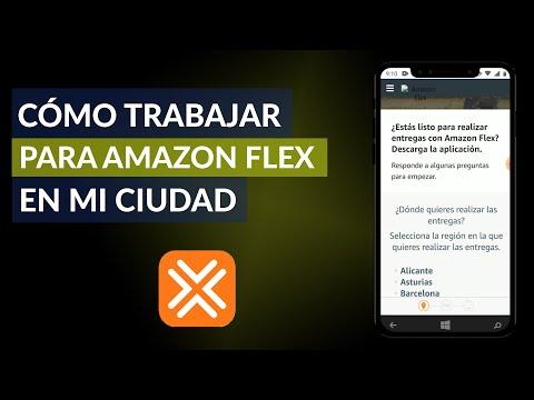 Cómo Trabajar para Amazon Flex en mi Ciudad - En qué Ciudades hay Amazon Flex